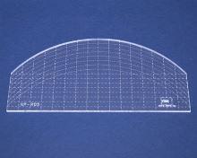 Quiltovací pravítko oblouk 1 výška 3mm