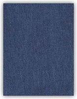 Nažehlovací riflová záplata 43x20 cm střední  modrá