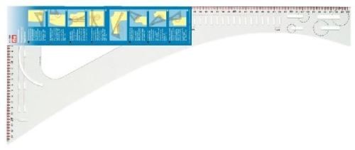 Pravítko krejčovské 60cm