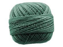 Vyšívací příze PERLOVKA 6852-lahvová zeleň