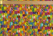 Úplet barevné číslice
