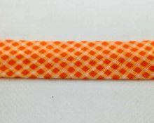 Šikmý proužek 20mm BA/PES kostička oranžová