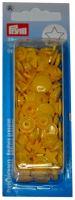 Plastové patentky Color snaps 12,4 mm žlutá hvězda