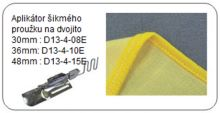 Aplikátor šikmého proužku na dvojito 30 mm - Babylock Cover Stitch