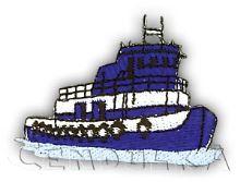 Nažehlovací aplikace loď