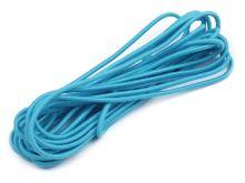 Kulatá pruženka průměr 2 mm svazek 3m modrý tyrkys