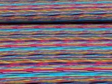 Teplákovina barevné pásky