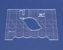 Quiltovací pravítko bordura 1 výška 3mm