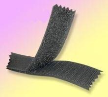 Suchý zip komplet černý, šíře 2 cm