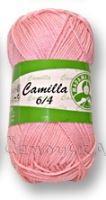 Příze camilla 6/4 sv. růžová 6313