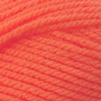 Ručně pletací příze Lada Luxus 50011 oranž neon