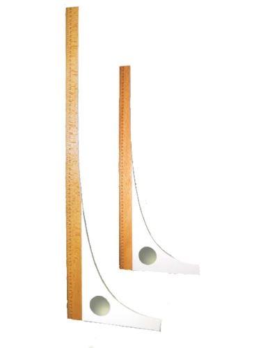 Krejčovský příložník 80 cm