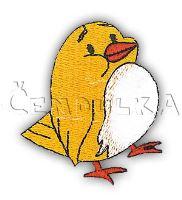 Nažehlovací aplikace ptáče