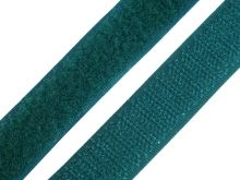 Suchý zip komplet šíře 2 cm zelená tmavá