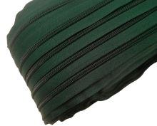 Zip spirálový v metráži 5mm tm. zelený