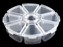 Plastový box na drobné šicí potřeby O10 cm