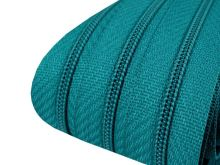Zip spirálový v metráži 3mm mořská modrá