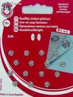 Našívací patenty KIN vel.2/0 nikl