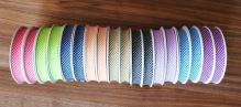Šikmý proužek 20mm BA/PES kostička fialová