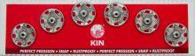 Našívací patenty KIN vel.6 nikl