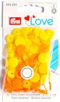 Prym LOVE plastové patentky Color snaps žlutý mix