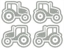 Nažehlovací aplikace reflexní traktory 2