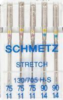 Strečové jehly SCHMETZ 130/705 H-S  75+90