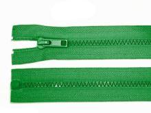 Zdrhovadlo zip kostěný 65 cm dělitelný jezerní zeleň