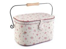 Košík na šití čalouněný