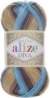 Příze Alize Diva Batik 3243