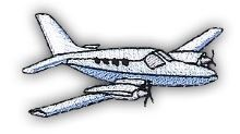 Nažehlovací aplikace letadlo