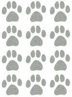Nažehlovací aplikace reflexní psí stopy