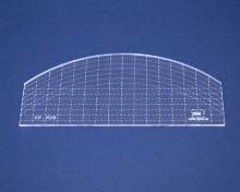 Quiltovací pravítko oblouk 2 výška 3mm