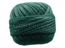 Vyšívací příze PERLOVKA 6872-tmavá zeleň