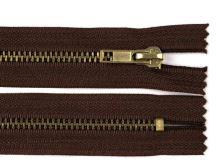 Zdrhovadlo zip staromosazný 95cm dělitelný 6mm