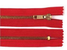Zdrhovadlo zip staromosazný 65cm dělitelný 6mm