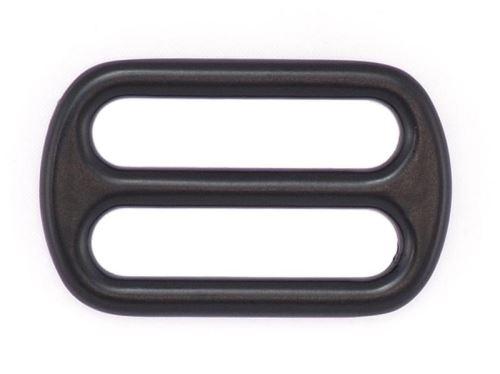 Průvlečná spona černá 20mm