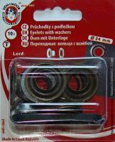 Průchodky kovové LORD 12mm staromosaz