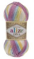 Příze Alize Diva Batik 6785
