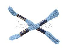 Vyšívací příze MOULINE 5532 - blankytná modř