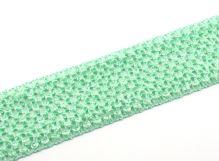 Síťovaná pruženka 7cm tutu sv. zelená
