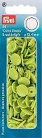 Plastové patentky Color snaps 12,4 mm jablečná zeleň