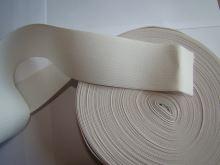 Pruženka plochá 30mm bílá