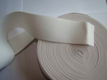 Pruženka plochá 50mm bílá