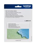 Karta se vzory pro dírkování papíru