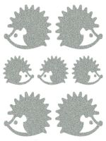 Nažehlovací aplikace reflexní ježek
