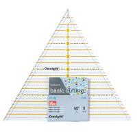 Pravítko PATCHWORK trojúhelník 60° MULTI 8 Inch