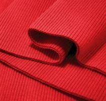 Náplety elastické žebrované - tunel 16x80 cm červená