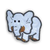 Nažehlovací aplikace reflexní slon