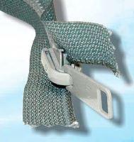 Zdrhovadlo zip kostěný dětlitelný 35 cm oboustranný jezdec